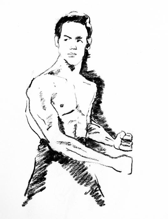 bruce lee coloring pages - photo#23