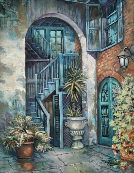 Dianne Parks - Brulatour Courtyard