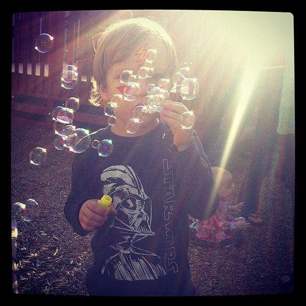 Bubbles Photograph