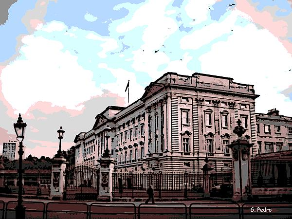 Buckingham Palace Print by George Pedro