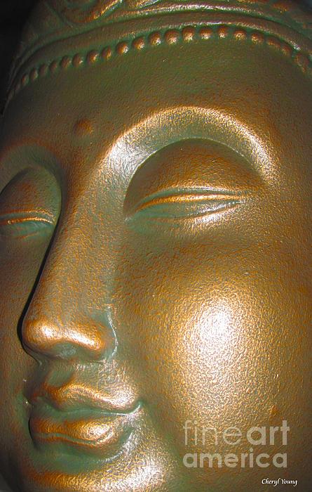 Buddha 25 Print by Cheryl Young