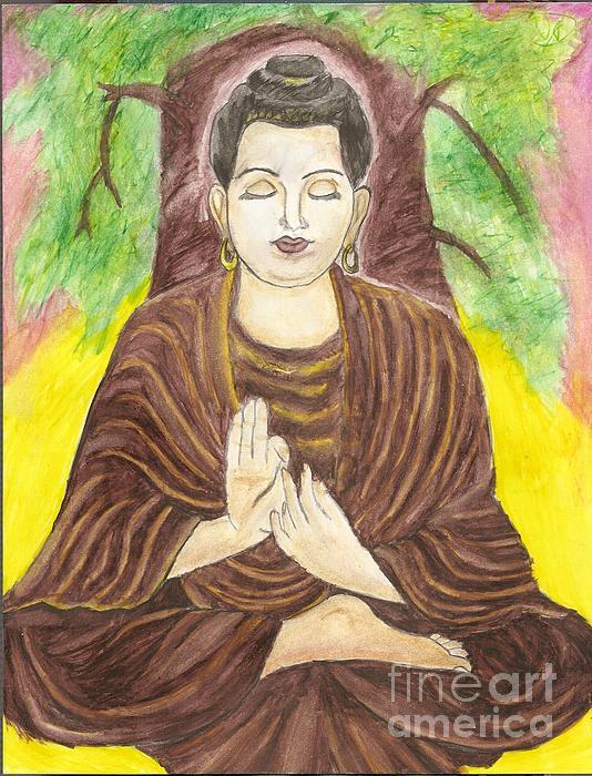 Summer Billiot - Buddha and the Bodhi Tree