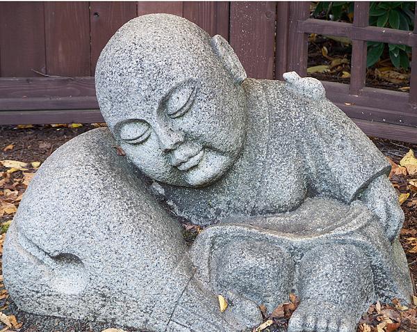 Buddha Print by Chalet Roome-Rigdon