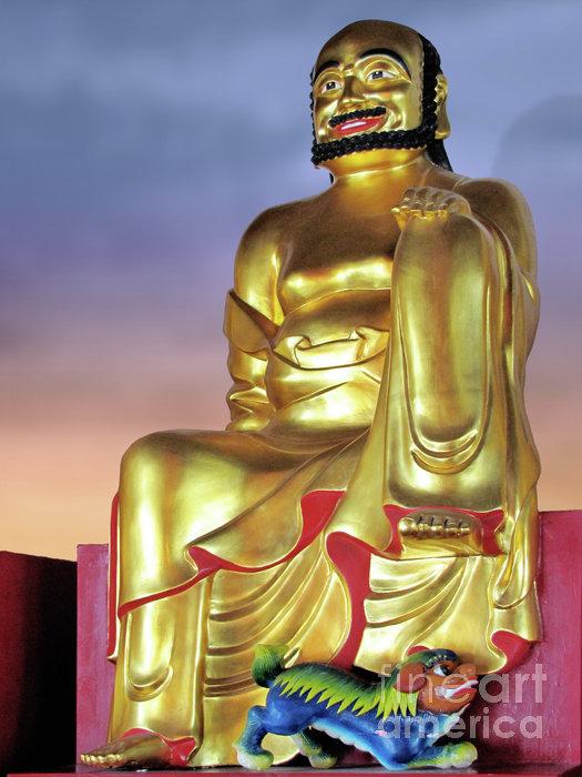 Buddha Print by Christine Till