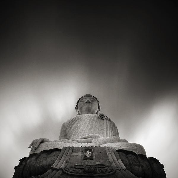 Buddha Statue Print by Teerapat Pattanasoponpong