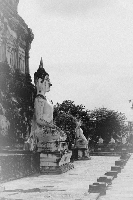 Buddha Statue Print by Thosaporn Wintachai