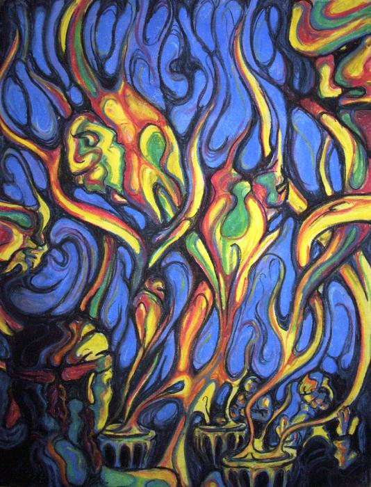 Buffalo Spirits Print by John Benko