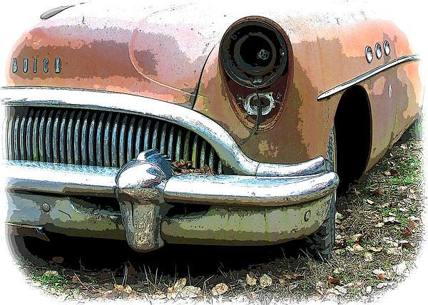 Buick Print by Steve McKinzie