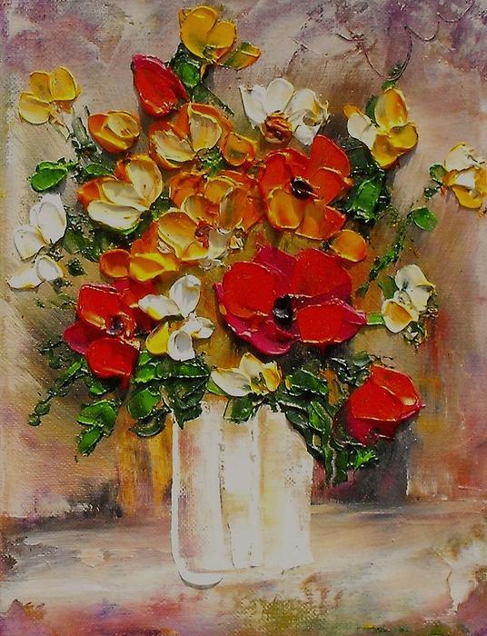 MiMa Kostova - Bulgarian flowers 3