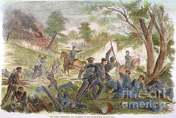 Bull Run: Rebel Bayonets Print by Granger