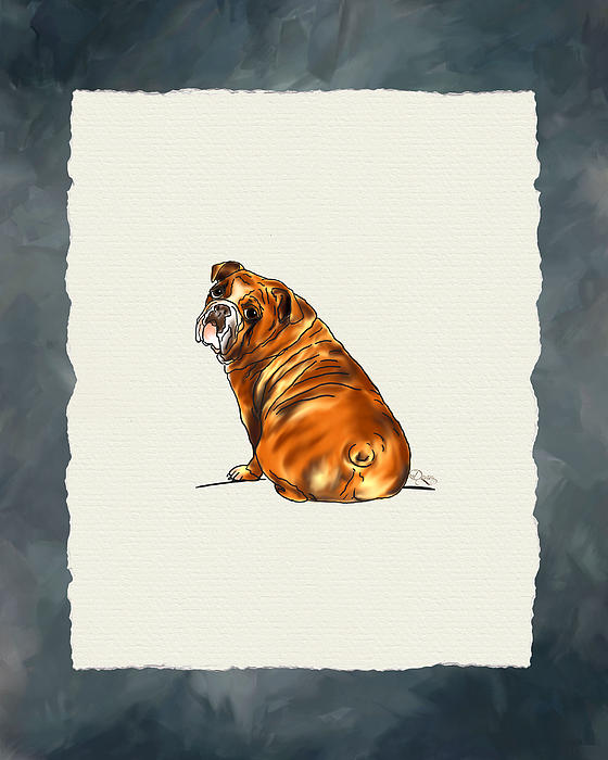 Bulldog Digital Art
