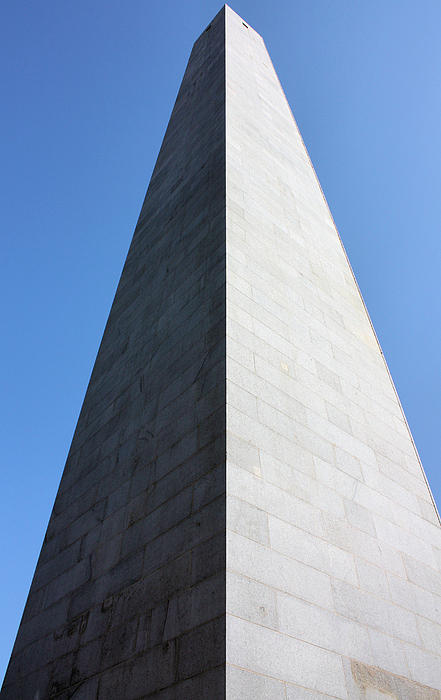 Bunker Hill Monument Print by Kristin Elmquist