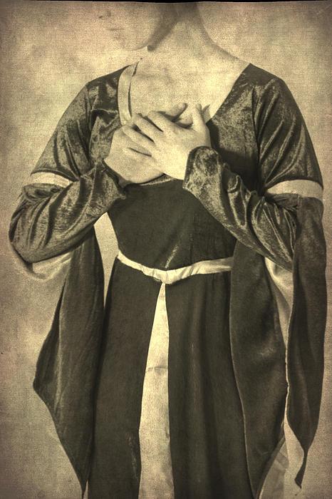 Bust Of A Woman Print by Joana Kruse