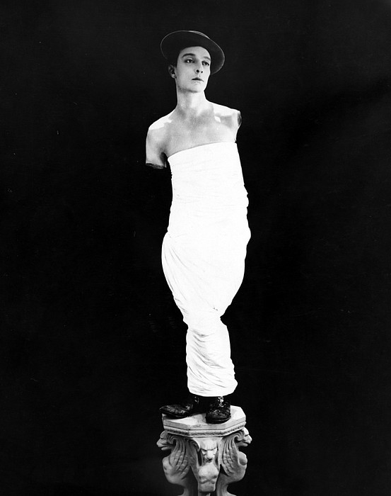Buster Keaton, Ca. Early 1920s Print by Everett