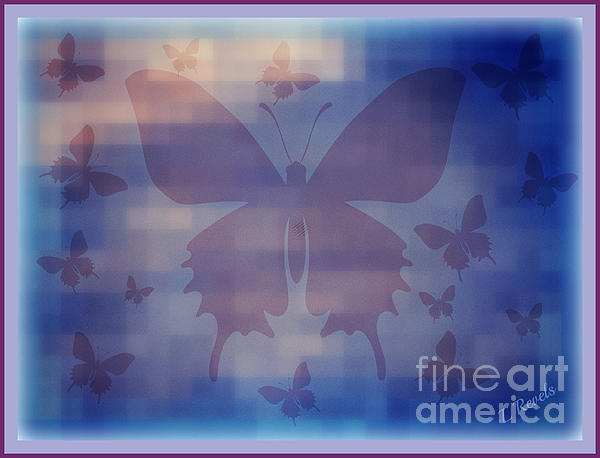 Leslie Revels Andrews - Butterflies in Blue