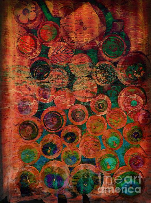 Buttons Print by Ann Powell