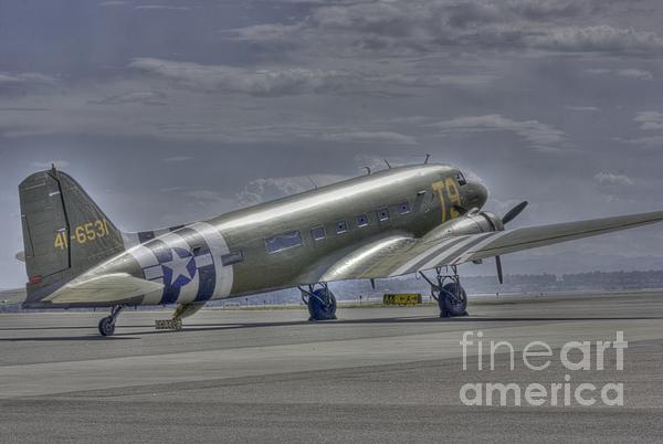 C-47 Skytrain Print by David Bearden