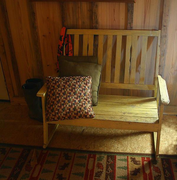 Nina Fosdick - Cabin Bench