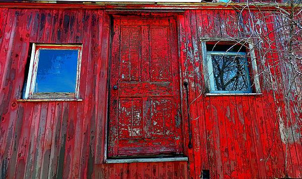 Marcia Lee Jones - Caboose Door