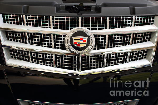 Cadillac . 7d9524 Print by Wingsdomain Art and Photography