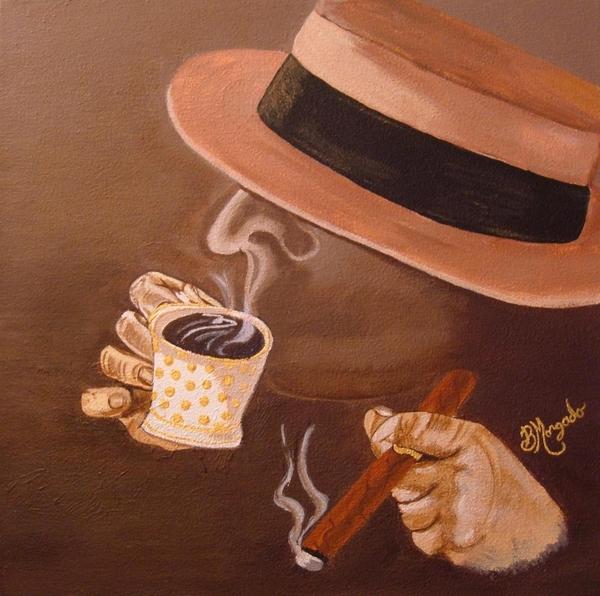 Cafesito Print by Brenda Morgado