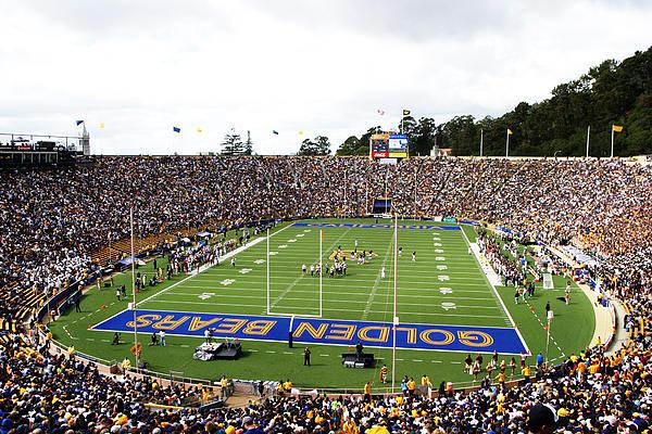 Cal  Memorial Stadium Print by Icon Sports Media
