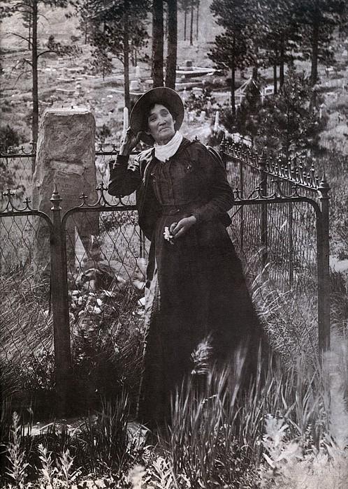 Calamity Jane Martha Jane Burke Print by Everett