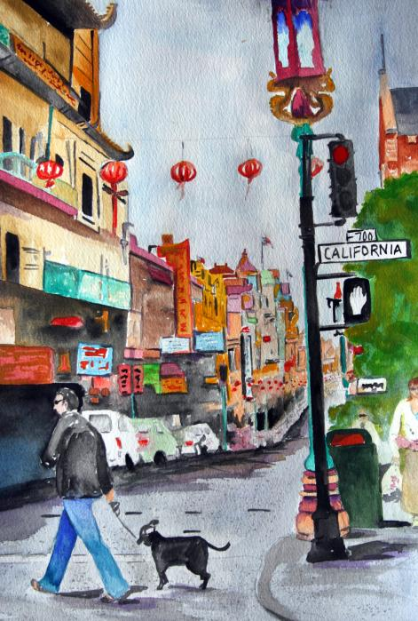 Julie Lueders  - California Chinatown