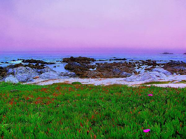 California Coast Print by Jen White