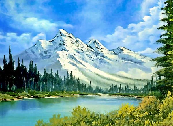Bob and Nadine Johnston - California Mountain Lake