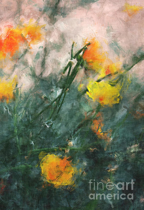 Julie Lueders  - California Poppies