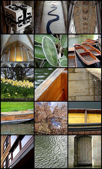 Cambridge As I Remember It Print by Roberto Alamino