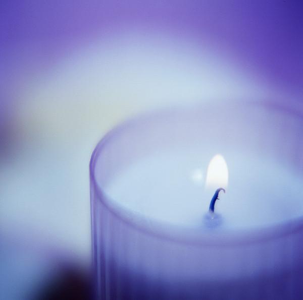 Candle Print by Cristina Pedrazzini