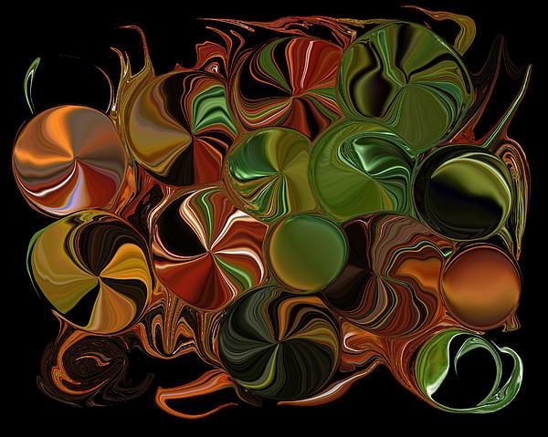Candy Dish Print by Steven Richardson