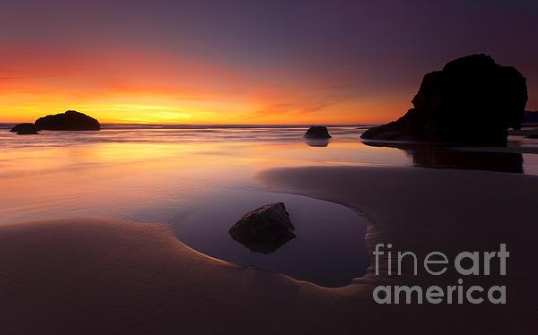 Mike  Dawson - Cannon Beach Sunset