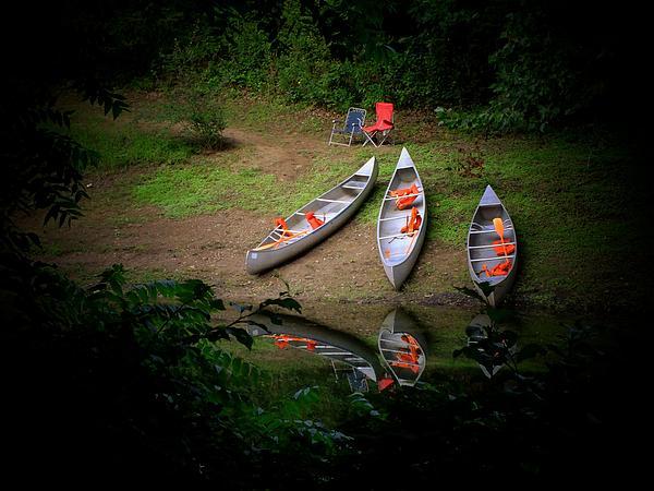 Michael L Kimble - Canoe Bank