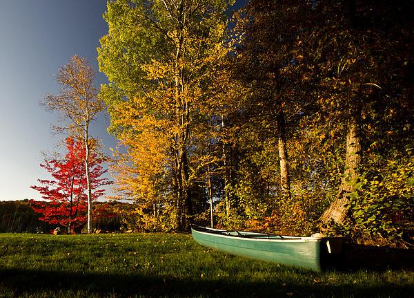 Canoe Print by Cale Best