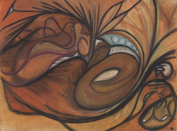 Canyon Dancer Print by Stu Hanson