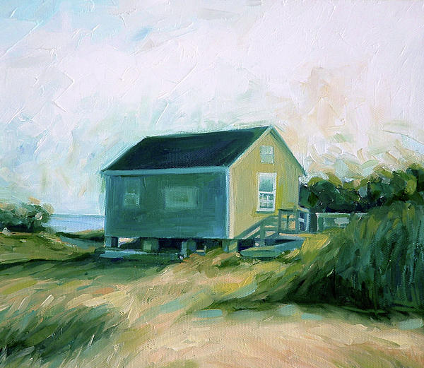 Cape Cod Cottage By Ezartesa Art