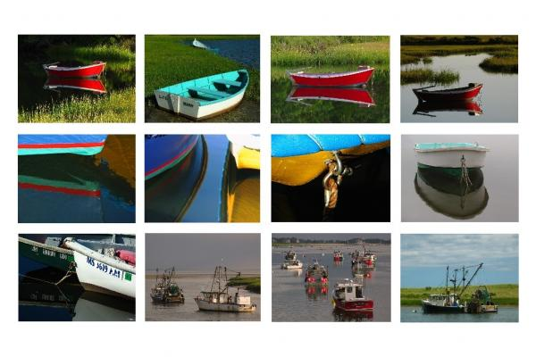 Cape Cod Fishing Boat Collection Photograph