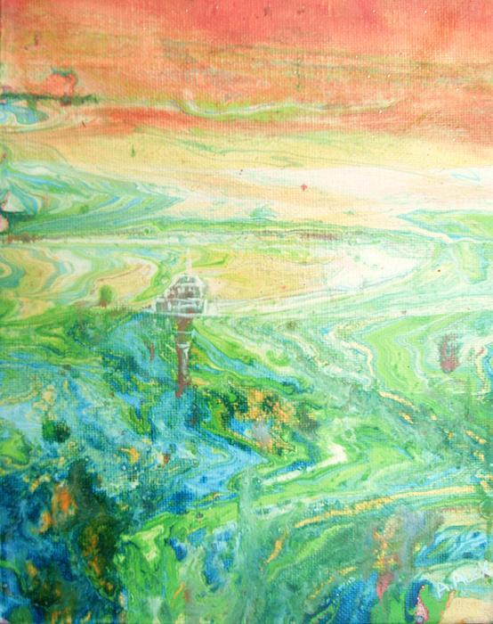 Cape Dreams I Print by Andria Alex