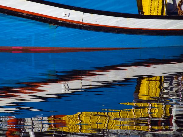 Cape Town Boats Print by Skip Hunt