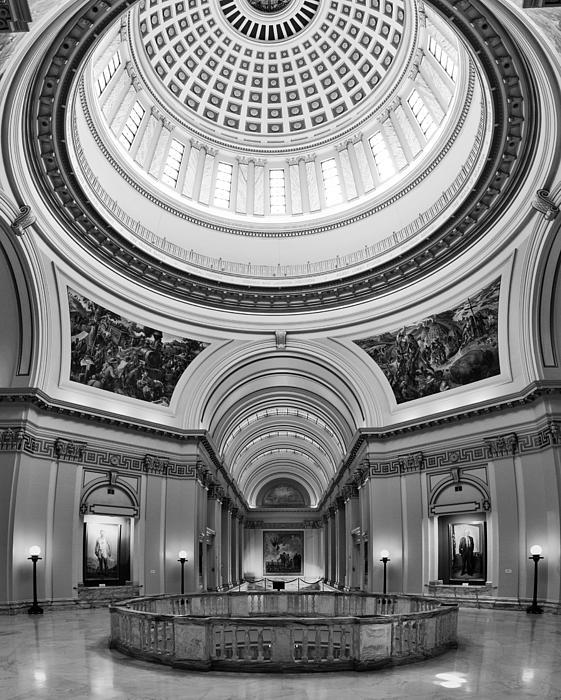 Capitol Interior Print by Ricky Barnard
