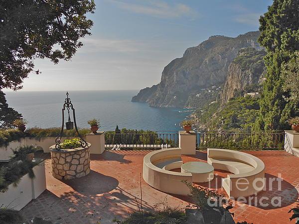Capri Panorama Print by Italian Art