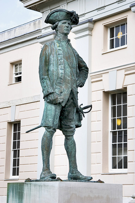 Captain James Cook, British Explorer Print by Sheila Terry