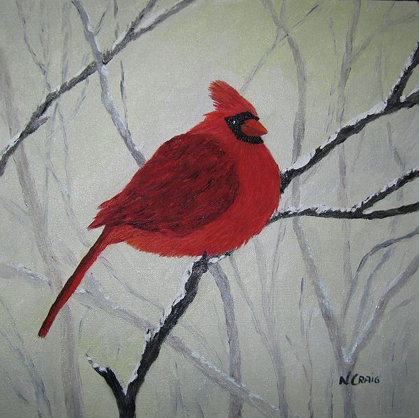 Nancy Craig - Cardinal in Winter