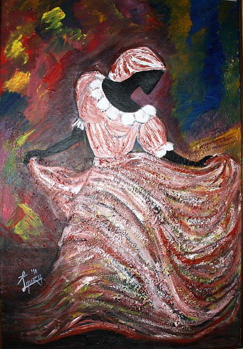 Caribbean Dancer Painting  - Caribbean Dancer Fine Art Print