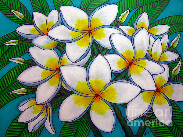 Caribbean Gems Print by Lisa  Lorenz