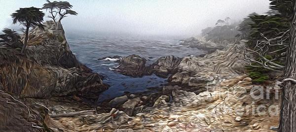 Carmel California - Lone Pine Print by Gregory Dyer
