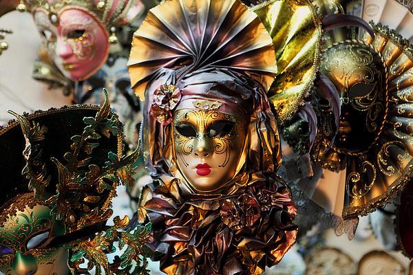 Paul Cowan - Carnevale masks in Venice